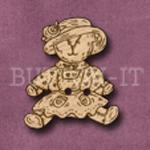 014 Teddy Bear 25mm x 29mm