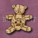 016 Teddy Bear 30mm x 30mm