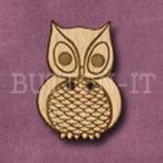 028 Owl 21mm x 30mm