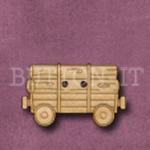 982 Log Wagon 28mm x 17mm
