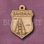 Bahrain Charm 22mm x 31mm
