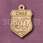 Chile Charm 22mm x 31mm