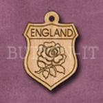 England Charm 22mm x 31mm