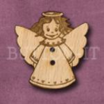 X019 Angel Button 28mm x 30mm