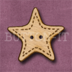 X028 Star Button 32mm x 30mm