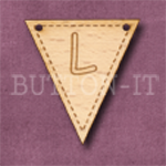 AB-L Alphabet Bunting 28mm x 30mm