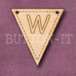 AB-W Alphabet Bunting 28mm x 30mm