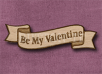 B-BMV Be My Valentine 50mm x 14mm