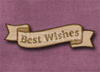 B-BW Best Wishes 50mm x 14mm