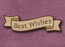 B-BW Best Wishes 50mm x 14mm