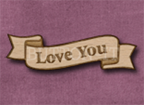 B-LY Love You 50mm x 14mm