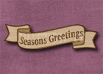 B-SG Seasons Greetings 50mm x 14mm