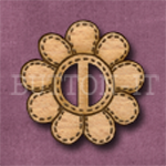 BF-03 Flower Buckle 30mm x 30mm