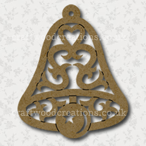 Filigree Craftwood Bell Shape