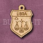 Libra Charm 22mm x 31mm