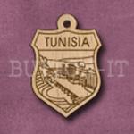 Tunisia Charm 22mm x 31mm