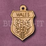Wales Charm 22mm x 31mm