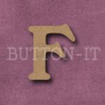 Craftwood Letter F