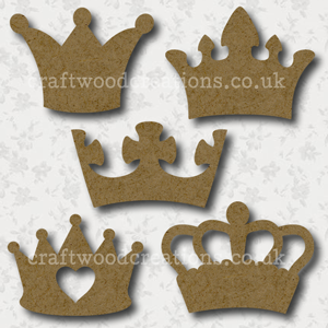 Craftwood Crowns Shapes