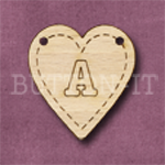 HB-A Heart Bunting 26mm x 28mm