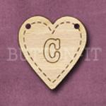 HB-C Heart Bunting 26mm x 28mm