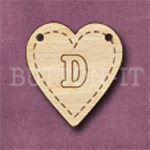 HB-D Heart Bunting 26mm x 28mm
