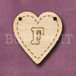 HB-F Heart Bunting 26mm x 28mm