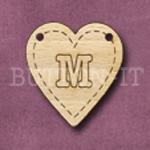 HB-M Heart Bunting 26mm x 28mm
