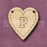 HB-P Heart Bunting 26mm x 28mm