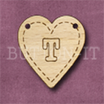HB-T Heart Bunting 26mm x 28mm
