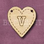 HB-V Heart Bunting 26mm x 28mm