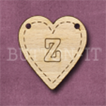 HB-Z Heart Bunting 26mm x 28mm