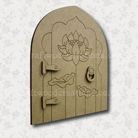 Lotus Fairy Door