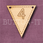 NB-4 Number Bunting 28mm x 30mm