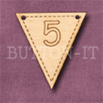 NB-5 Number Bunting 28mm x 30mm