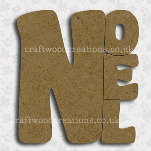 Craftwood Noel Sign