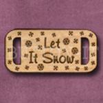 SX-02 Slide Let It Snow 36mm x 17mm