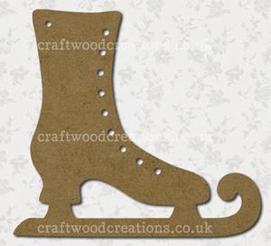 Craftwood Ice Skate Shape