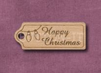 T-HCL Happy Christmas Lights 39mm x 15mm