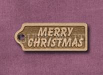 T-MC Merry Christmas 39mm x 15mm