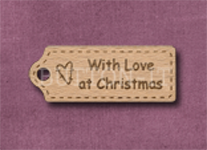 T-WLAC With Love at Christmas 39mm x 15mm