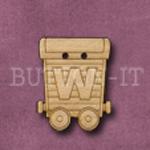 Name Train Button Letter W