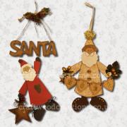 3D Santa Samples