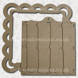 3D Craftwood Sahdow Box Kit