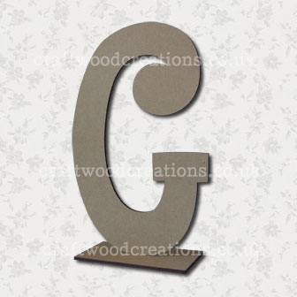 Free Standing Mdf Letters G
