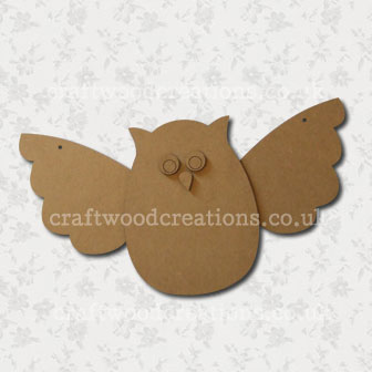 3D Mdf Owl Kit