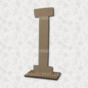 Free Standing Mdf Letters I
