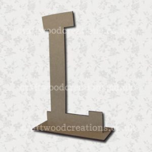 Free Standing Mdf Letters L