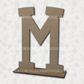 Free Standing Mdf Letters M
