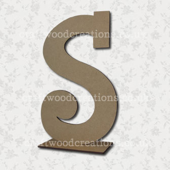 Free Standing Mdf Letters S